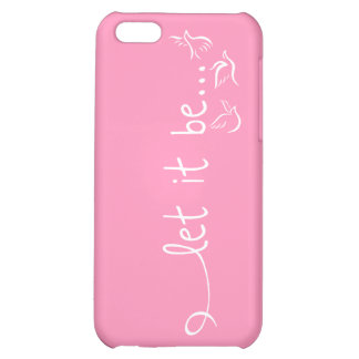let it be iPhone 5C covers