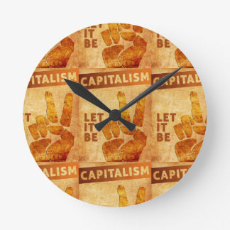 Let It Be Round Clock
