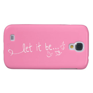 Let it be with doves - tattoo art galaxy s4 case