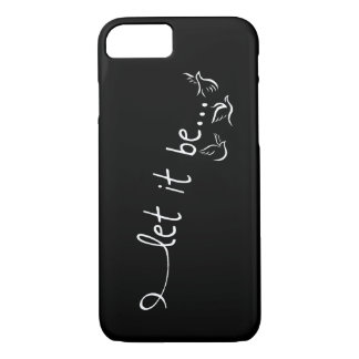 Let it be with doves - tattoo art iPhone 7 case