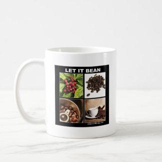 let it bean coffee mug
