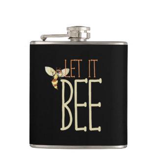 Let it BEE Hip Flask