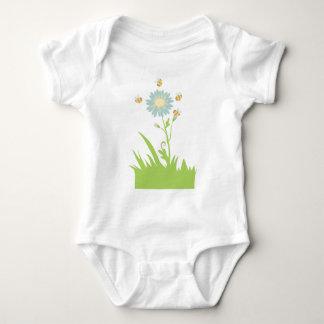 Let it bee (no text) baby baby bodysuit