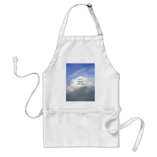 Let It Begin With Me Adult Apron