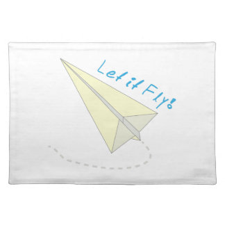 Let It Fly! Cloth Placemat