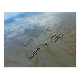 Let It Go Postcard