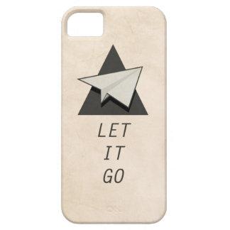 Let It Go Quotes Paper Planes iPhone 5 Case