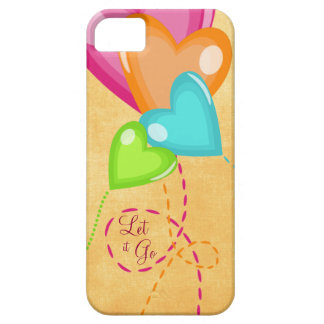 Let it Go with Balloons Floating Away iPhone 5 Case
