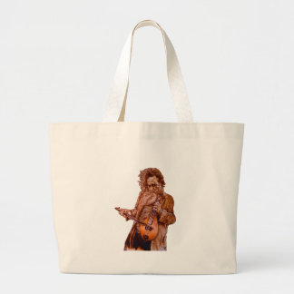 LET IT PLAY LARGE TOTE BAG