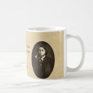 """Let It Produce Joy"" Custom Whitman Quote Coffee Mug"