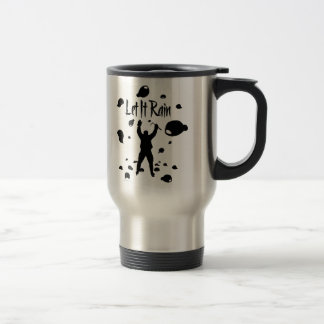 Let It Rain (Hockey) Travel Mug