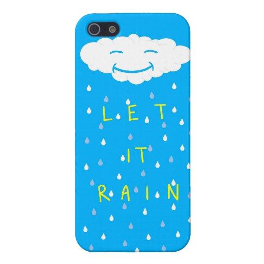 Let It Rain iPhone SE/5/5s Cover
