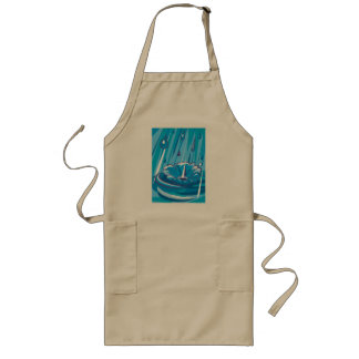 Let It Rain Long Apron