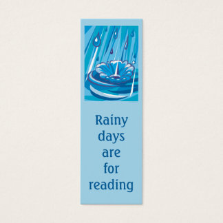 Let It Rain Mini Business Card