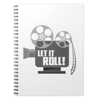 Let It Roll Note Book