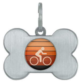 Let It Roll Pet Name Tag