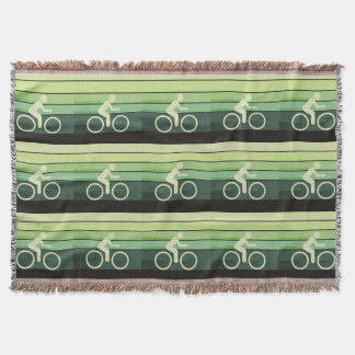 Let It Roll Throw Blanket