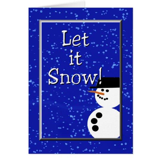let it snow 1 card