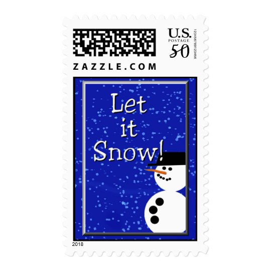 let it snow 1 postage