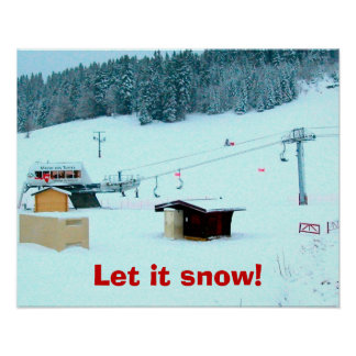 let it snow! 1 poster