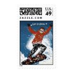 Let It Snow 2 postage