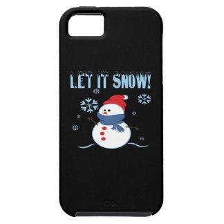 Let It Snow 3 iPhone SE/5/5s Case