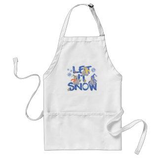 Let it Snow Adult Apron