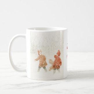 Let It Snow at Christmas Coffee Mug