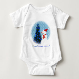 Let it Snow  Baby Tshirt