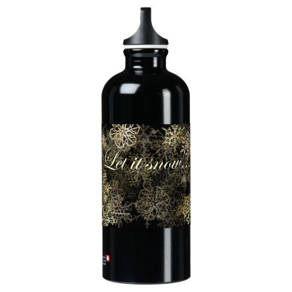 Let It Snow Blue Beach Song™ SIGG Water Bottle