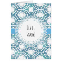 Let it snow! card
