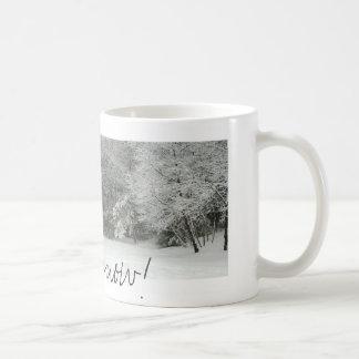 Let it snow! classic white coffee mug