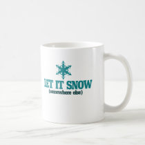 Let it Snow Coffee Mug