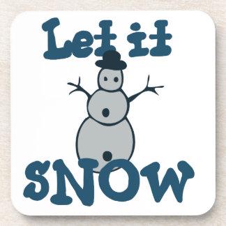 Let it SNOW Coasters