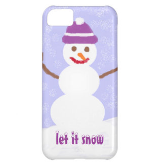 Let it Snow Cover For iPhone 5C