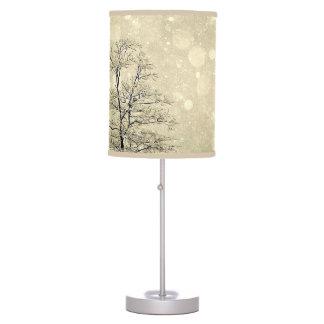 Let It Snow Desk Lamp
