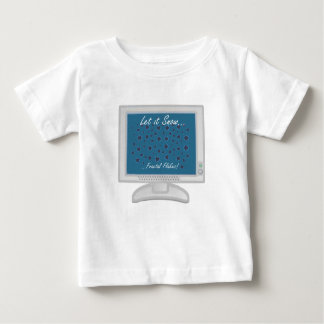 Let it Snow...fractal flakes! Baby T-Shirt