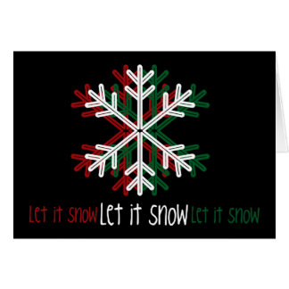 Let it Snow [Greeting Card]