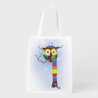 Let it Snow Grocery Bag