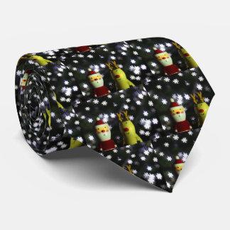 Let it Snow! Happy Holidays with Santa tie