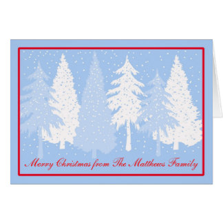 Let it Snow Holiday Christmas Card