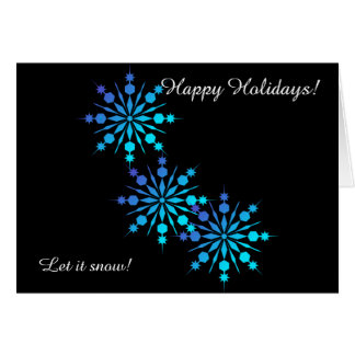 Let it snow! Holiday Greeting Cards