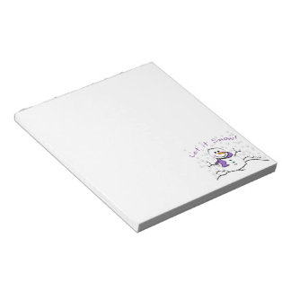 Let It Snow Holiday Memo Pads
