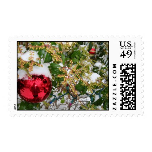 Let It Snow! Holiday Stamp