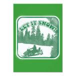 Let It Snow Invites
