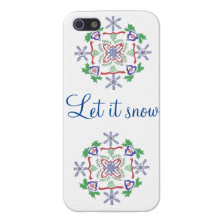 let it snow iphone-case iPhone SE/5/5s cover