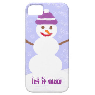 Let it Snow iPhone SE/5/5s Case