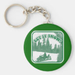 Let It Snow Keychains