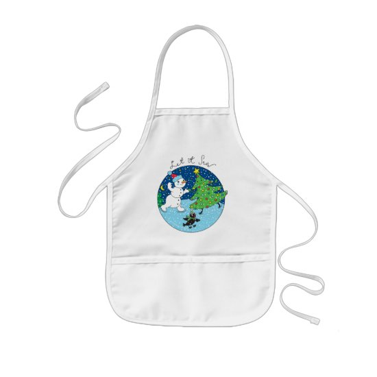 Let it Snow Kids' Apron