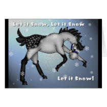 Let it Snow, Let it Snow, Let it Snow Card